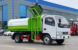东风D6挂桶垃圾车